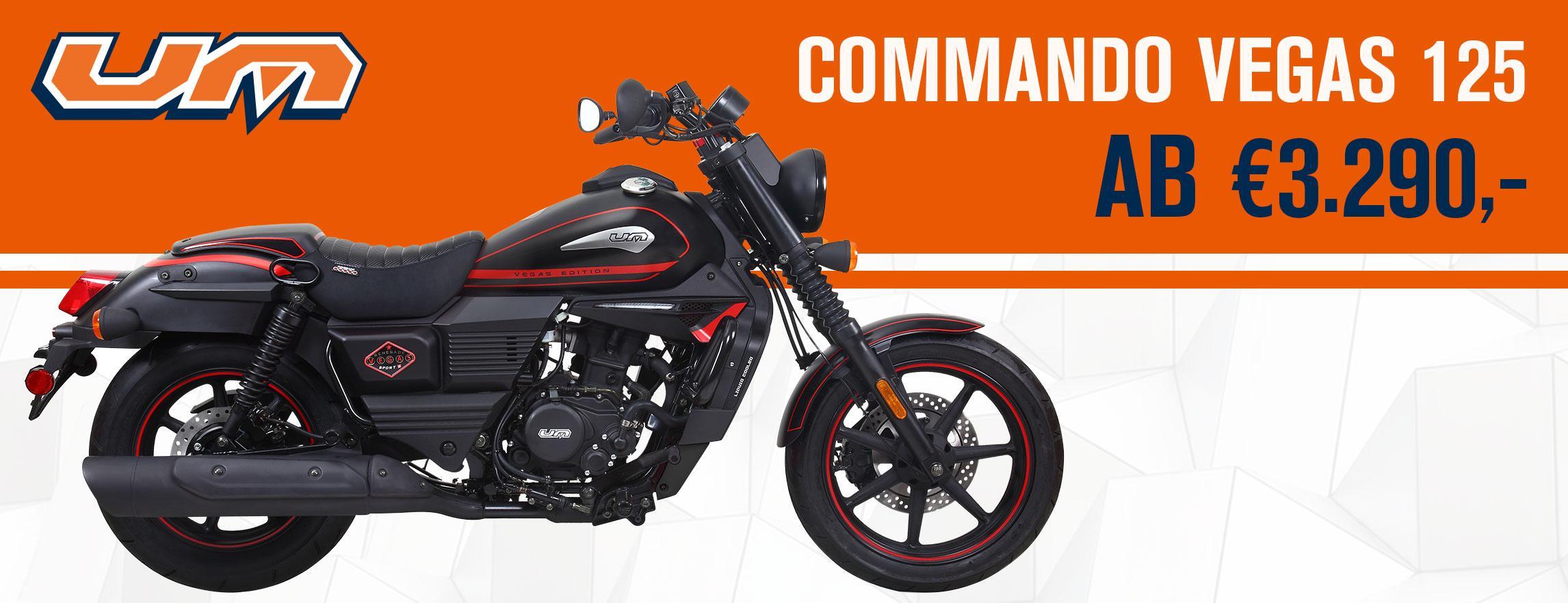 Commando Vegas 125