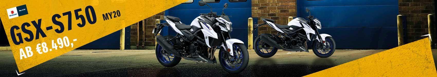 Suzuki GSX-S750 MY20 ab € 8.490,-