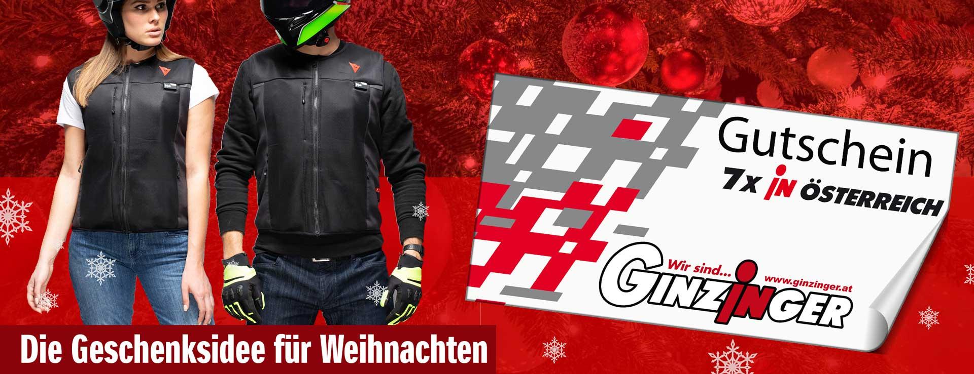 Ginzinger Gutschein - das ideal Geschenk