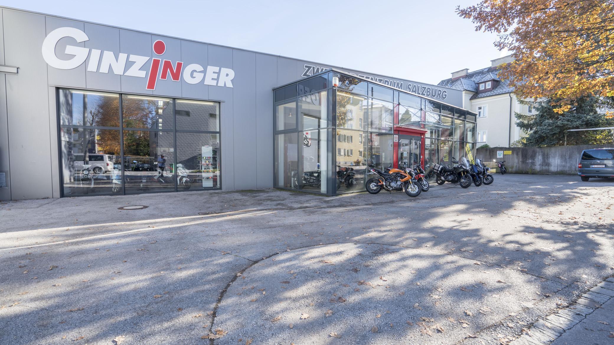 Ginzinger Filiale Salzburg
