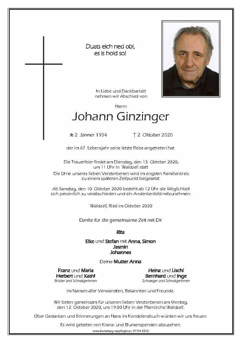 Johann Ginzinger kl