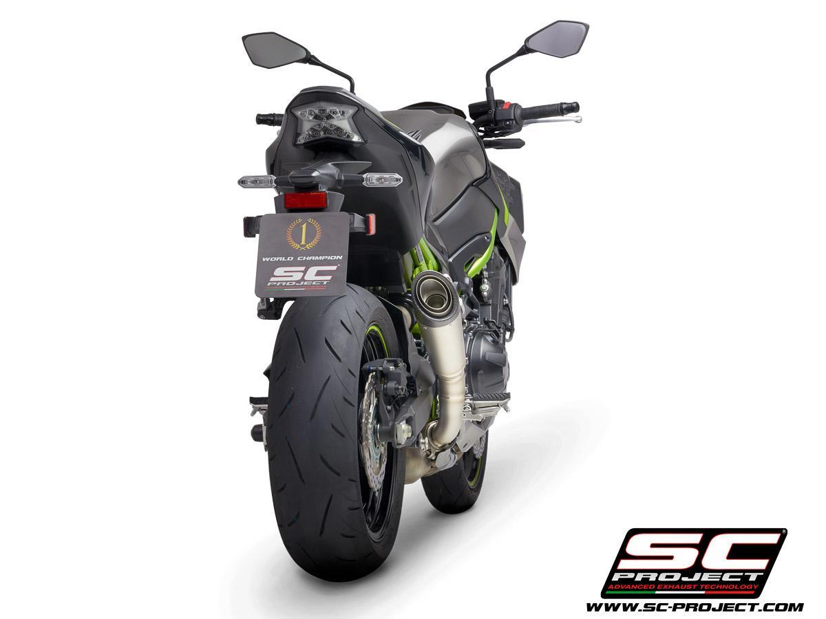 Kawasaki Z900 my2020 S1 Titanio Retro