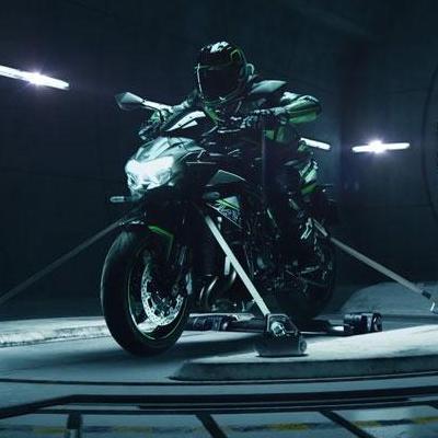 Kawasaki Z H2 mit Aufladung