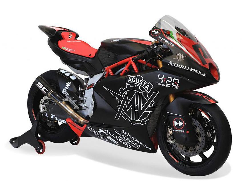 Moto2 Bike schräg vorne