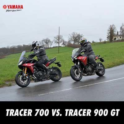Tracer 700 vs. Tracer 900 GT