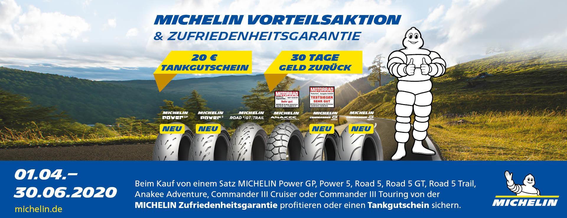 Michelin Vorteilsaktion